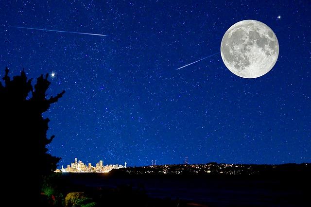 10月りゅう座流星群2017見ごろのピーク時間や方角方向は?