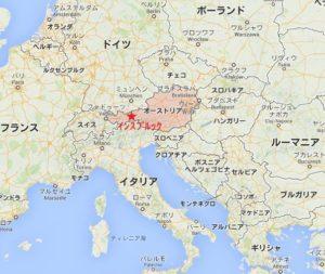 インスブルックmap